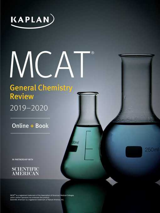 Title Details For MCAT General Chemistry Review 2019 2020 By Kaplan Test Prep