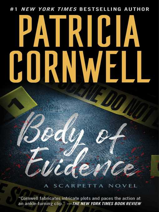 Title details for Body of Evidence by Patricia Cornwell - Wait list