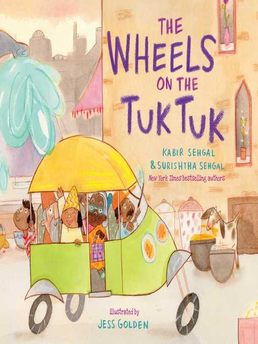 Chicago public schools digital library the wheels on the tuk tuk cover of the wheels on the tuk tuk fandeluxe Images