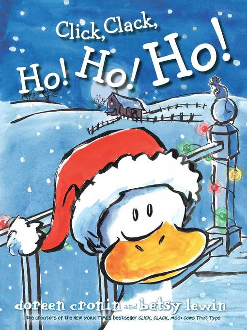 Title details for Click, Clack, Ho! Ho! Ho! by Doreen Cronin - Wait list