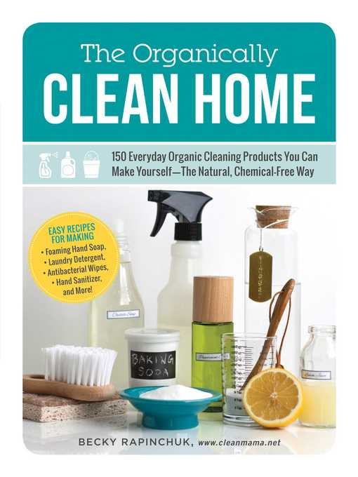 Title details for The Organically Clean Home by Becky Rapinchuk - Wait list