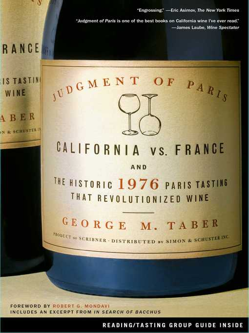 Title details for Judgment of Paris by George M. Taber - Wait list