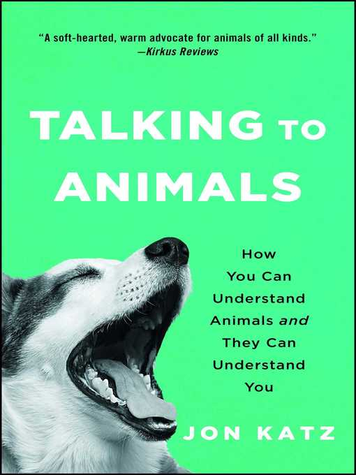 Cover of Talking to Animals