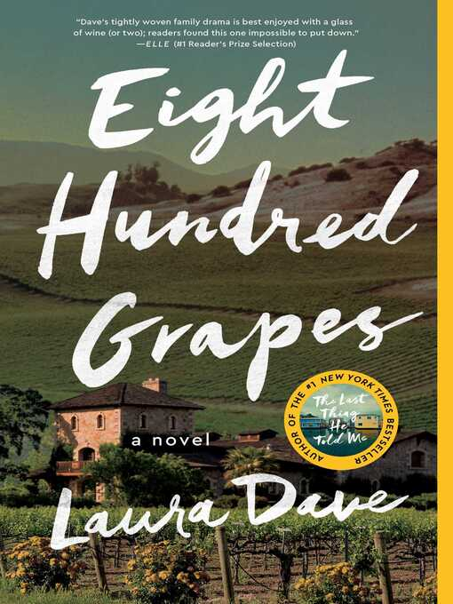 Title details for Eight Hundred Grapes by Laura Dave - Wait list