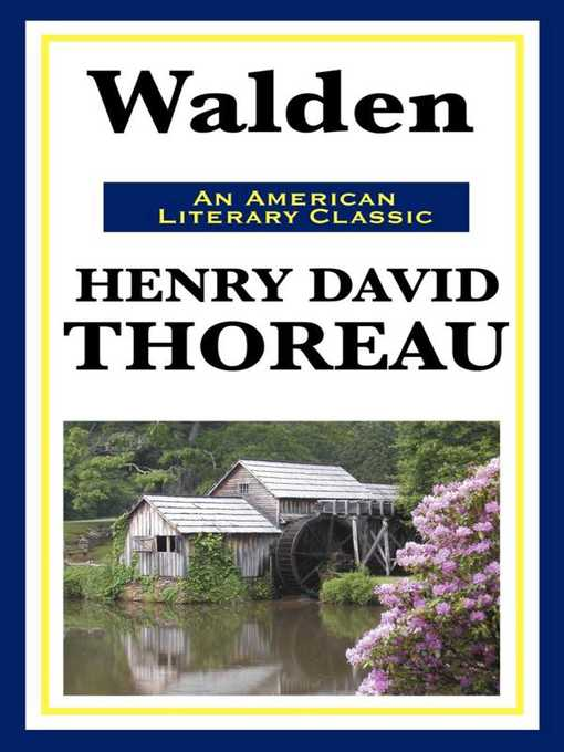 an introduction to the literature by henry david thoreau Welcome to the litcharts study guide on henry david thoreau's walden created by the original team behind sparknotes, litcharts are the world's best literature guides thoreau was born into a family of humble means, his father a pencil-maker a gifted student, he attended harvard college, where his.
