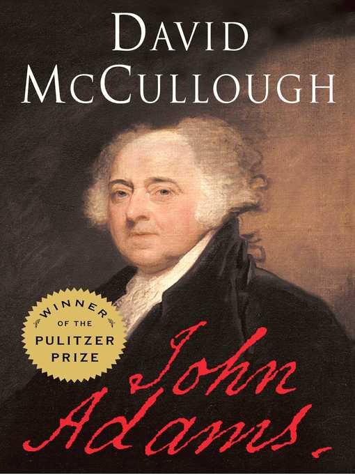 Title details for John Adams by David McCullough - Wait list