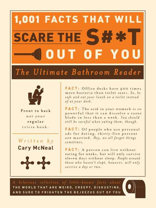 Kids - 1,001 Facts that Will Scare the S#*t Out of You - National ...