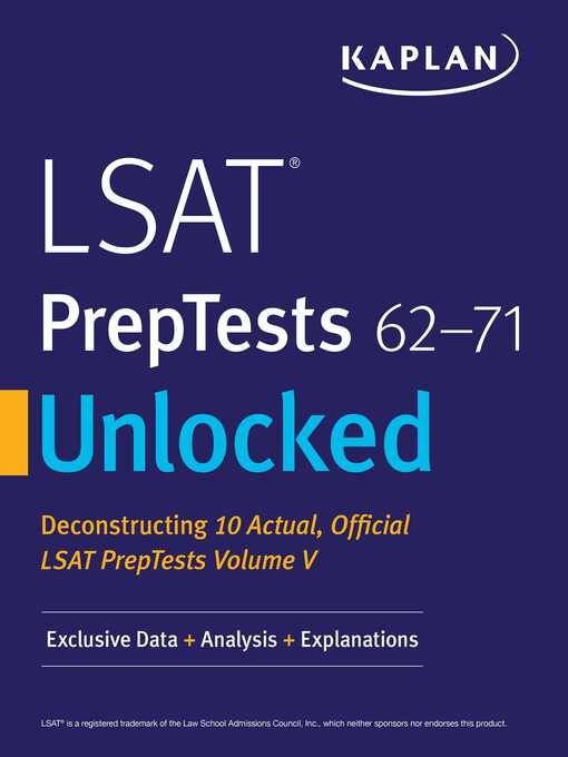 Title details for Kaplan Companion to LSAT PrepTests 62-71 by Kaplan Test Prep - Available