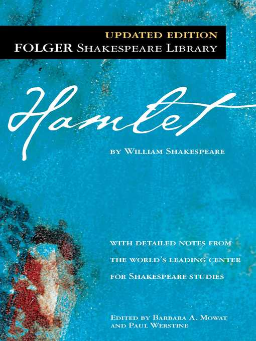 Title details for Hamlet by William Shakespeare - Wait list