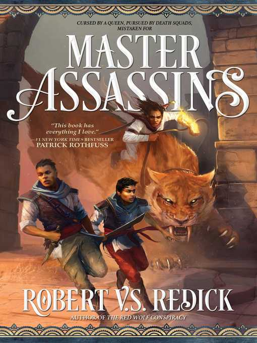 Master Assassins The Fire Sacraments, Book One