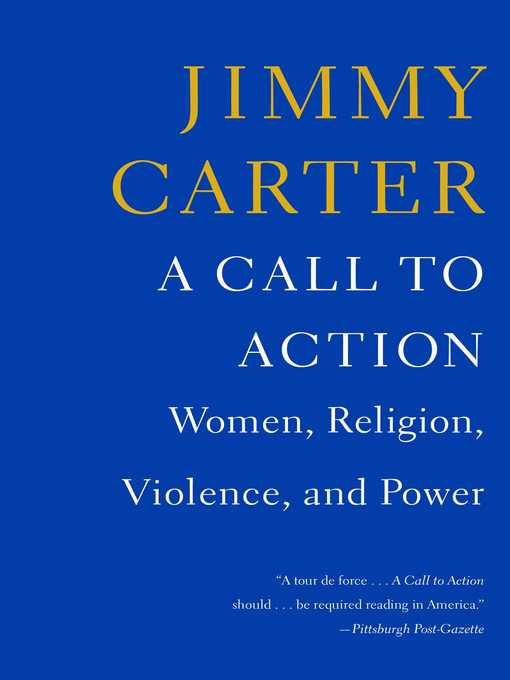 Title details for A Call to Action by Jimmy Carter - Available