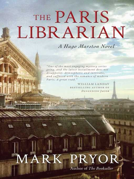 Title details for The Paris Librarian by Mark Pryor - Wait list