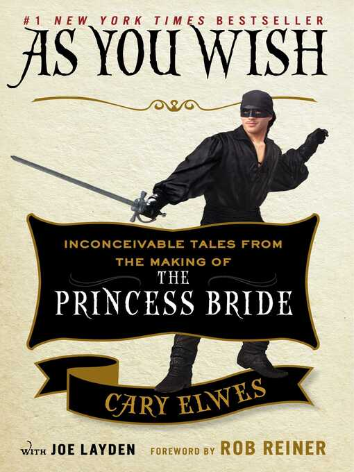 Title details for As You Wish by Cary Elwes - Wait list