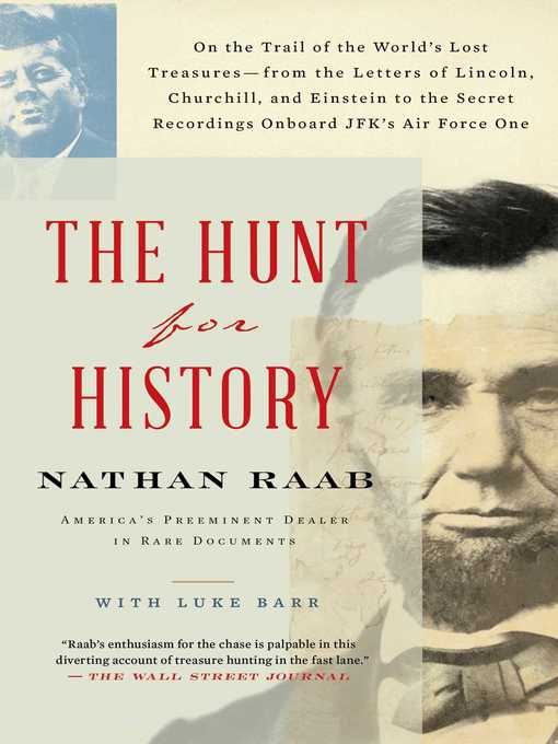 Title details for The Hunt for History by Nathan Raab - Available