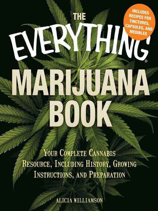 Title details for The Everything Marijuana Book by Alicia Williamson - Available