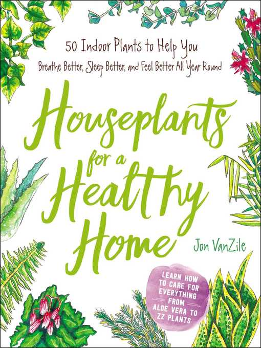 Title details for Houseplants for a Healthy Home by Jon VanZile - Wait list