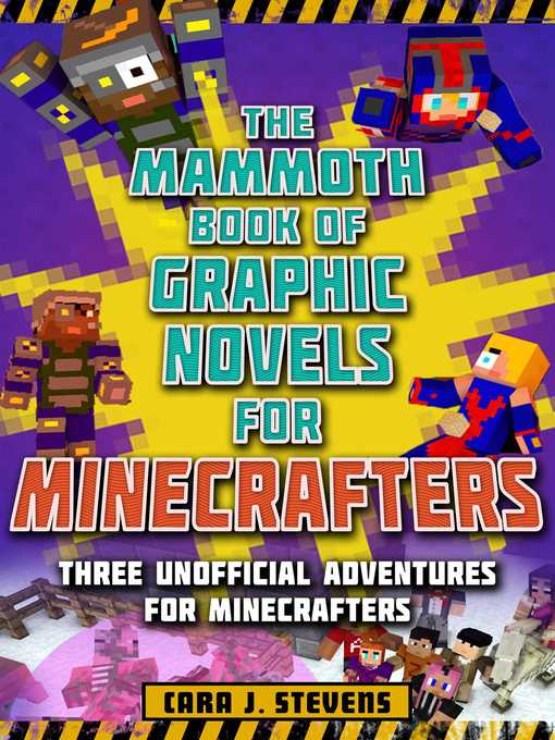 Cover image for Mammoth Book of Graphic Novels for Minecrafters