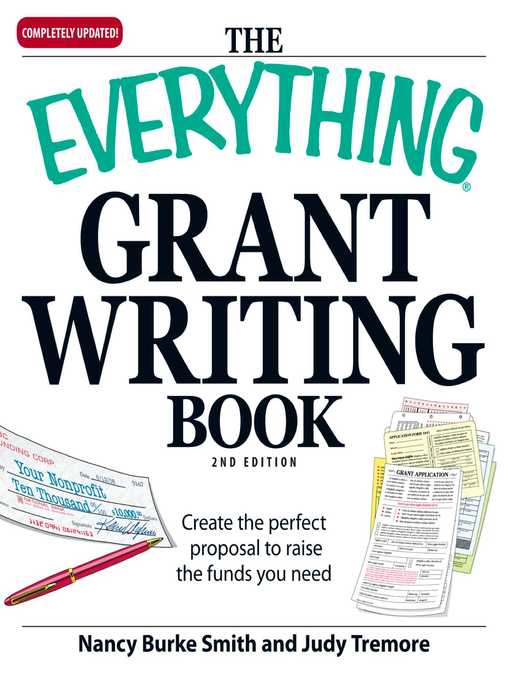 Title details for The Everything Grant Writing Book by Nancy Burke - Available