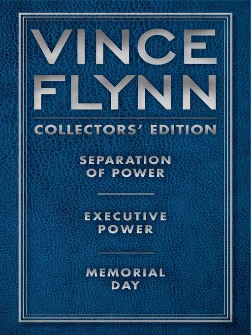 Title details for Vince Flynn Collectors' Edition #2 by Vince Flynn - Wait list