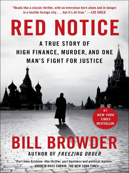 Title details for Red Notice by Bill Browder - Available