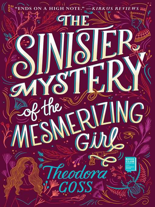 Title details for The Sinister Mystery of the Mesmerizing Girl by Theodora Goss - Wait list