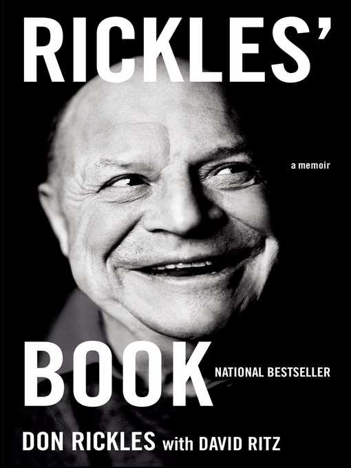 Title details for Rickles' Book by Don Rickles - Available
