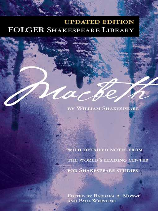 Cover image for book: Macbeth