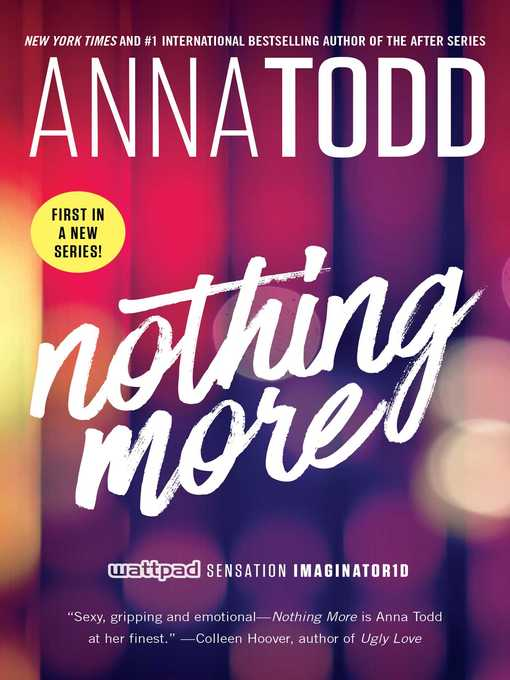 Title details for Nothing More by Anna Todd - Available