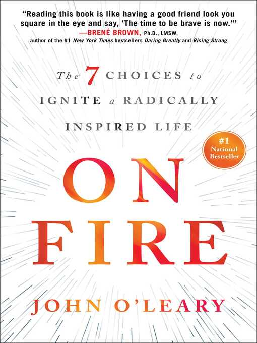 Title details for On Fire by John O'Leary - Wait list