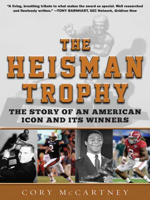 Title details for The Heisman Trophy by Cory McCartney - Available