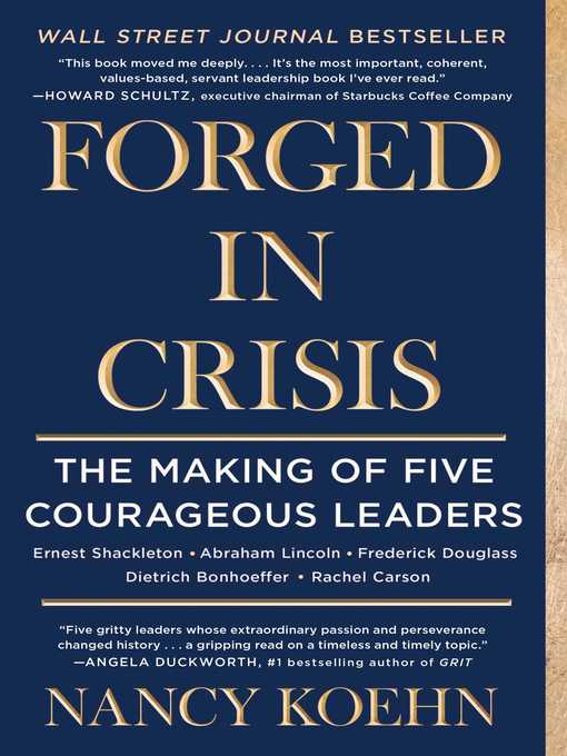 Title details for Forged in Crisis by Nancy Koehn - Available