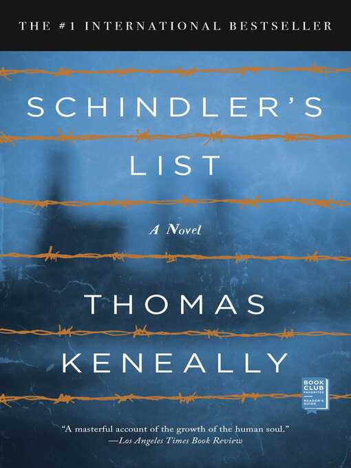 Title details for Schindler's List by Thomas Keneally - Wait list