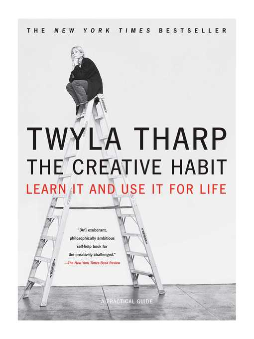 Title details for The Creative Habit by Twyla Tharp - Wait list