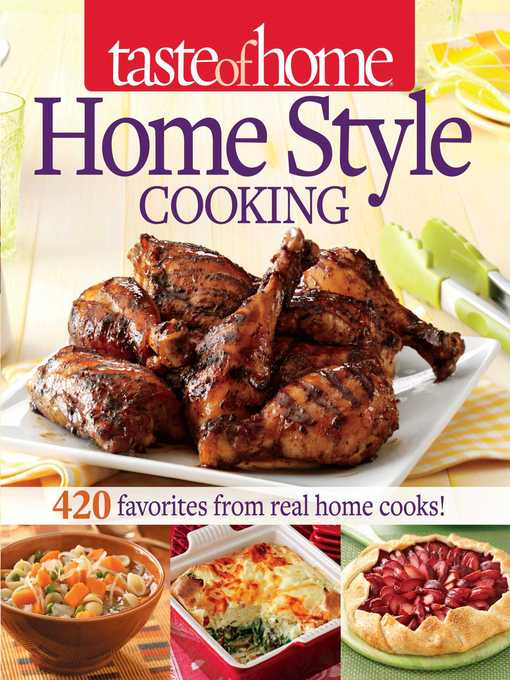 Title details for Taste of Home Home Style Cooking by Taste of Home - Wait list