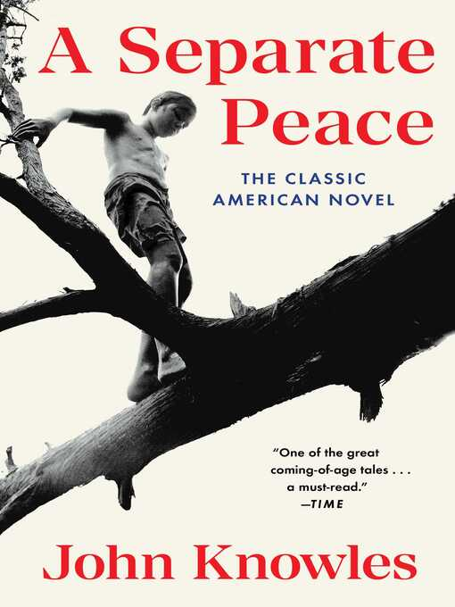 Title details for A Separate Peace by John Knowles - Wait list