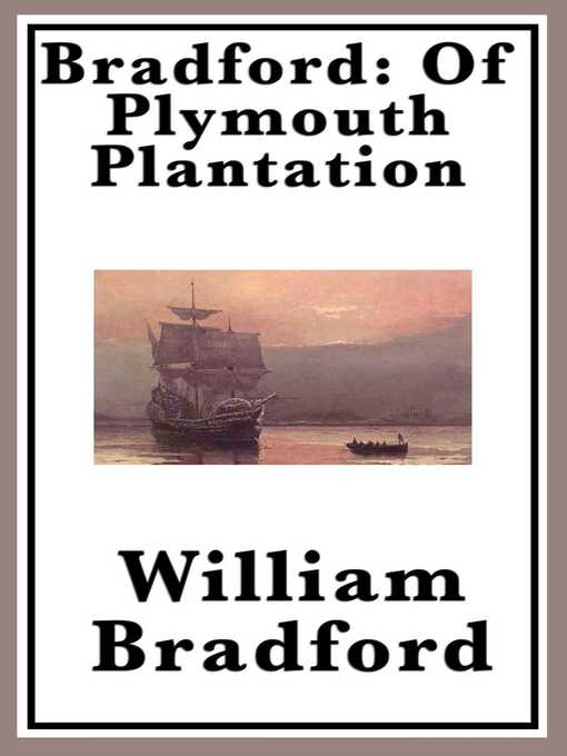 Cover of Of Plymouth Plantation