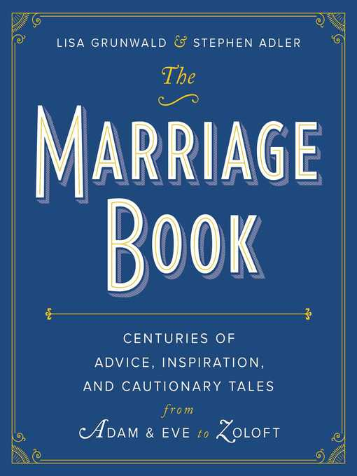 Title details for The Marriage Book by Lisa Grunwald - Available