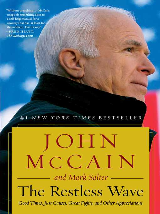 Title details for The Restless Wave by John McCain - Wait list