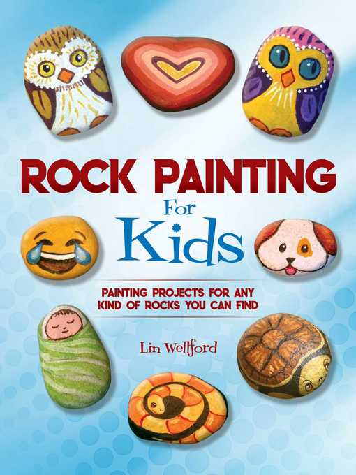 Cover of Rock Painting for Kids