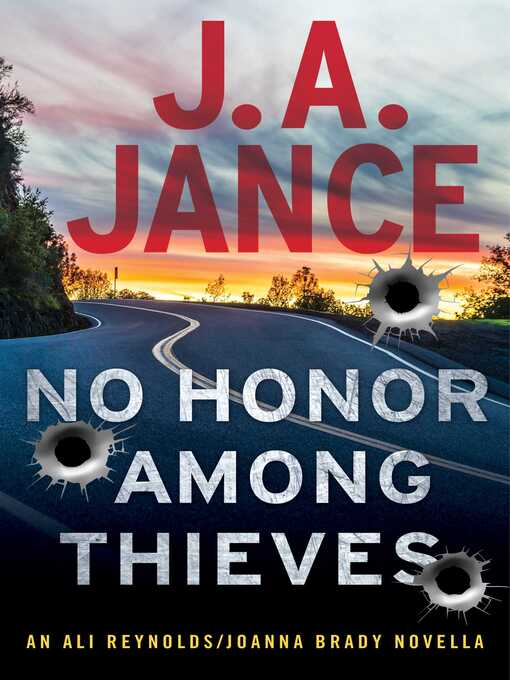 Title details for No Honor Among Thieves by J.A. Jance - Wait list