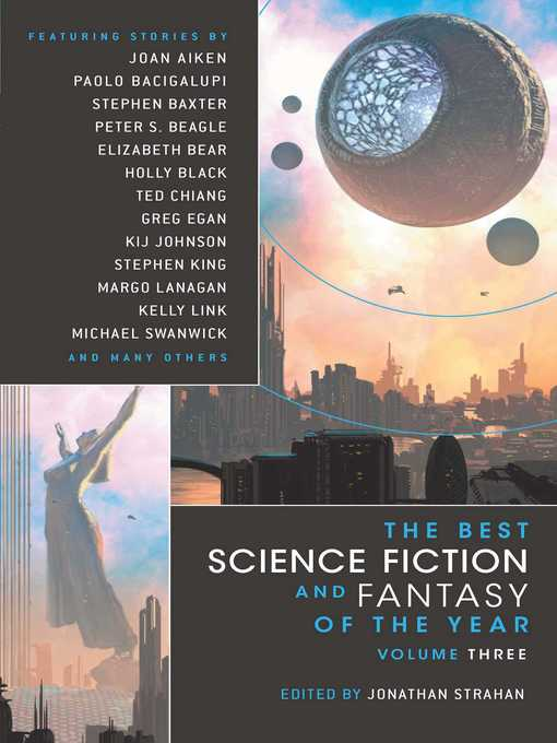 Cover of The Best Science Fiction and Fantasy of the Year Volume 3
