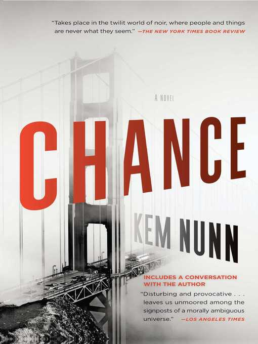 Title details for Chance by Kem Nunn - Wait list