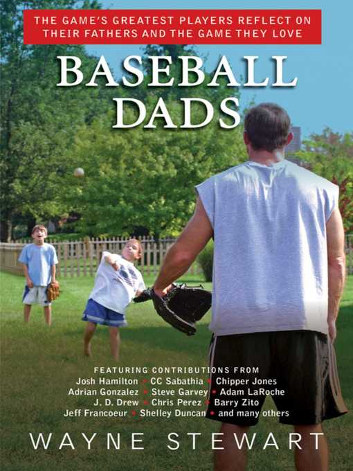 Cover image for book: Baseball Dads