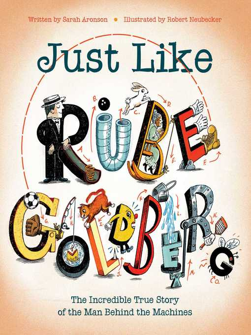 Title details for Just Like Rube Goldberg by Sarah Aronson - Wait list
