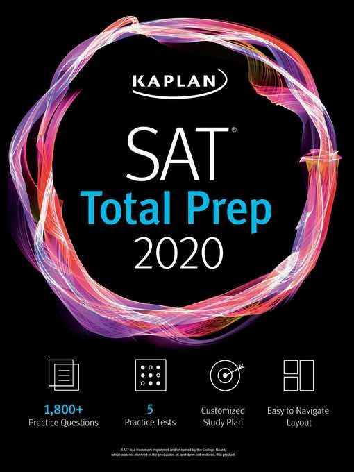 SAT total prep 2020 : 5 practice tests + proven strategies + online + video
