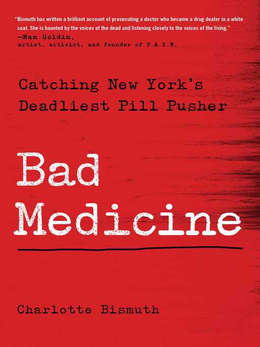 Title details for Bad Medicine by Charlotte Bismuth - Available