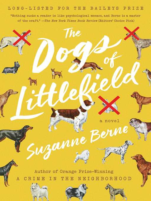 Title details for The Dogs of Littlefield by Suzanne Berne - Wait list