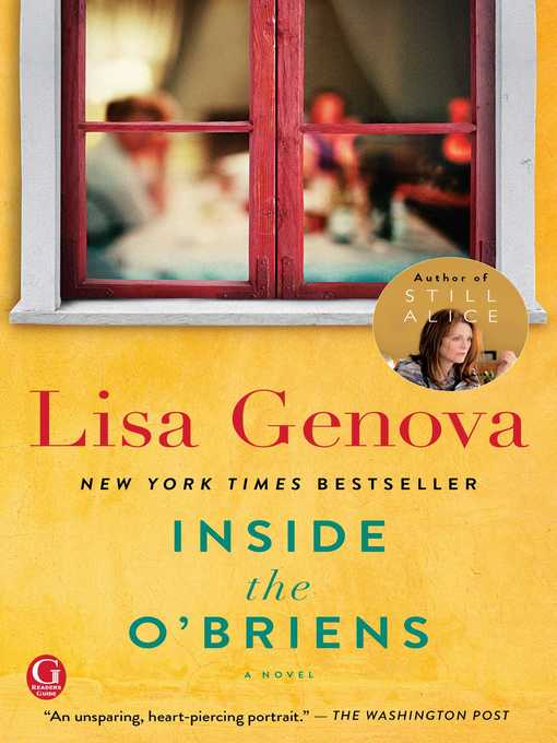 Title details for Inside the O'Briens by Lisa Genova - Available