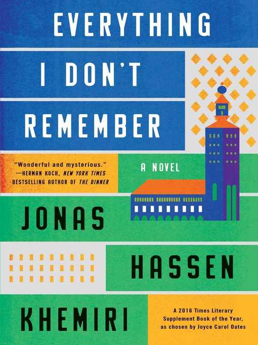 Title details for Everything I Don't Remember by Jonas Hassen Khemiri - Wait list