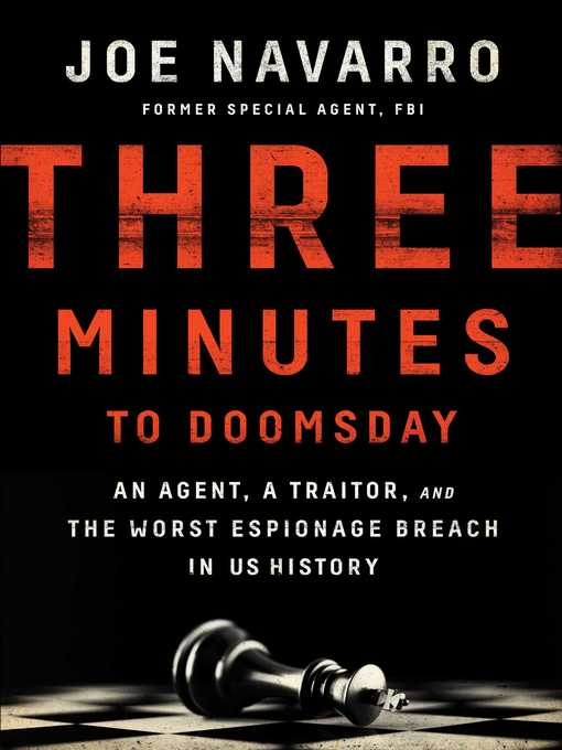 Title details for Three Minutes to Doomsday by Joe Navarro - Wait list